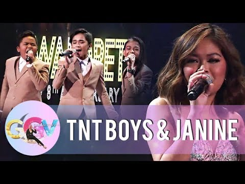 Janine and TNT Boys sing their rendition of Lintik | GGV