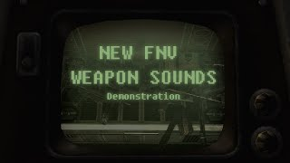 New New Vegas Weapons Sounds demonstration and Review