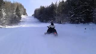 Gaspésie motoneige