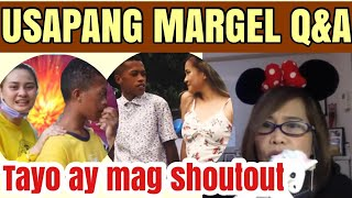 USAPANG  MARGEL COMEBACK, PAANO ANG MARDY? OPEN FORUM SPREAD LOVE