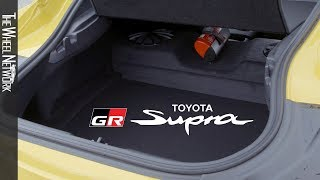 2020 Toyota Supra Interior & Engine (EU Spec)