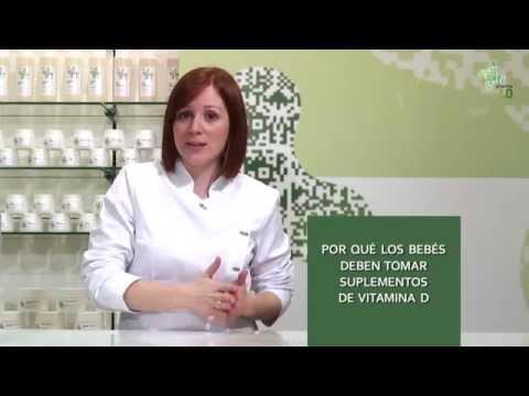 Suplementos de Vitamina D en bebés