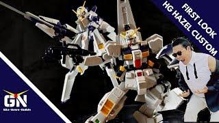 First Look & Lore: HG 1/144 Hazel Custom