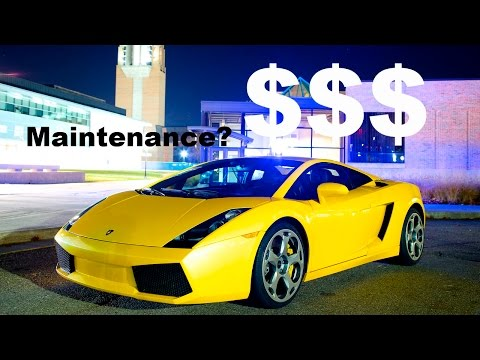 How Much Owning and Maintaining a Lamborghini Gallardo Costs