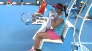 ANZ Kid's Tennis Day, Exhibition Match - Sharapova vs Vesnina Australian Open Qualifying 2012: Day 4