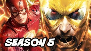 The Flash Season 5 Reverse Flash Teaser Scene - Cast Changes and Flash War Explained