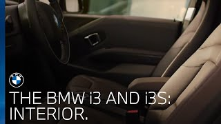 The BMW i3 and i3s   Experience the interior.