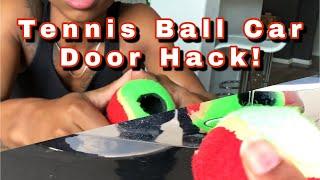 Can a Tennis Ball Really Unlock a Car Door?