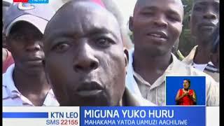 Jaji wa mahakama kuu Luka Kimaru ameagiza kuachiliwa kwa Miguna Miguna aliyekuwa akizuiliwa