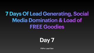 Day 7 - 35 Clients, Paying £150 Each (£5k) & Working 4 Days