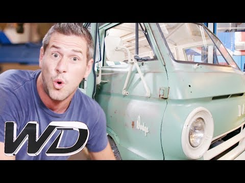 Download Ant Transforms This 50 Year Old Dodge A100 Into A Modern Day Surf Wagon | Wheeler Dealers HD Mp4 3GP Video and MP3