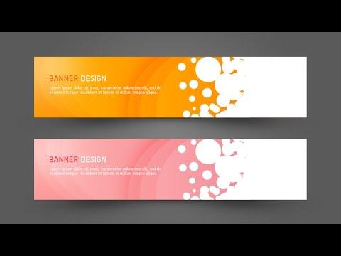 Photoshop Tutorial Web Design Simple Banner