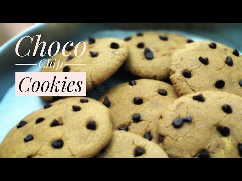 Chocolate Chip Cookies Without Oven || By  Using Wheat Flour # 6