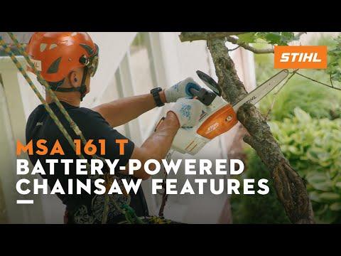 Stihl MSA 161 T in Kerrville, Texas - Video 2