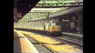 preview picture of video 'Trains at Exeter   Summer 1987'