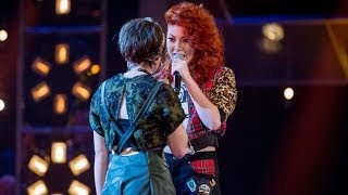 Anna Mcluckie Vs Jessica Steele: Battle Performance - The Voice UK 2014 - BBC One