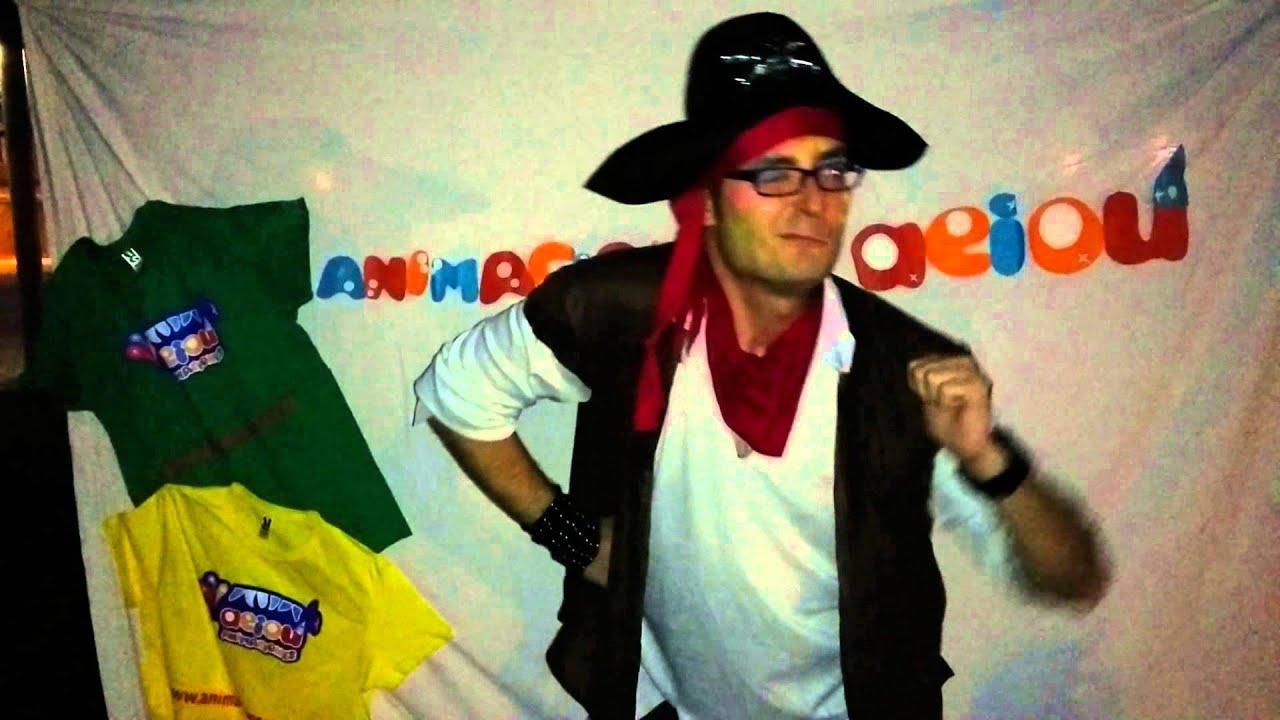 Canción infantil pirata para niños. Baila y canta