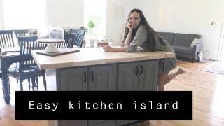 How To Make A Kitchen Island! $200 Kitchen Island