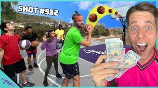 Last To Miss WINS $1,000! *BASKETBALL CHALLENGE*