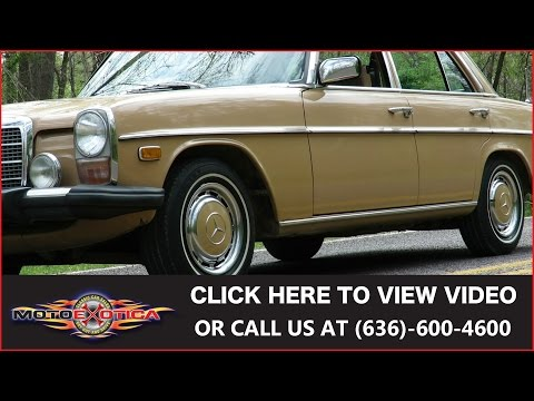 Video of '75 Mercedes-Benz 300D - HF5F
