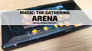 Play Magic: The Gathering Arena on Almost Any Mobile Device!