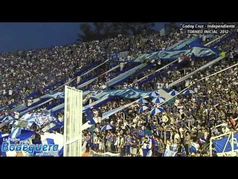 """""""Vamos a volver... (Torneo Inicial 2012 - Godoy Cruz vs. Independiente)"""" Barra: La Banda del Expreso • Club: Godoy Cruz"""
