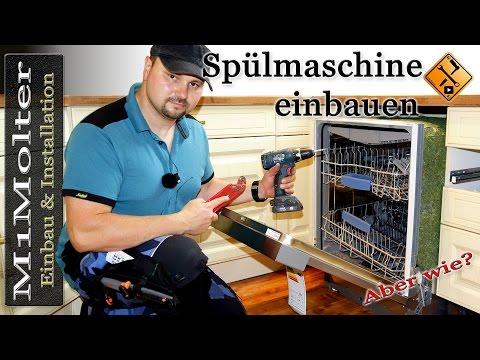 Spülmaschine einbauen - leicht verständliche & ausführliche Anleitung von M1Molter