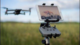 Robuste Tablet Halterung für Dji Mavic Air 2 - LifThor Baldur Test // 4K 60 FPS Deutsch