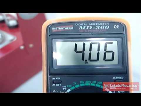 Máquina Limpeza e Teste de Injetores + Teste Corpo Borboleta + Software Bivolt - Video