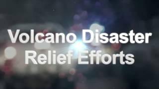 Volcano Disaster Relief Efforts