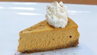 How to make Pumpkin Cheesecake   Easy Pumpkin Cheesecake Recipe
