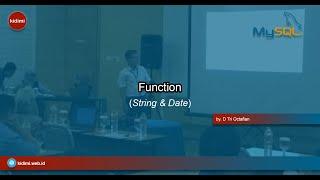 Function String dan Date
