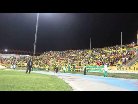 """""""En El Estadio Donde Juega El CARTACHO - SALIDA RAVN"""" Barra: Rebelión Auriverde Norte • Club: Real Cartagena"""
