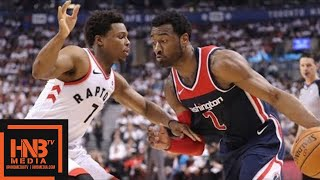 Toronto Raptors vs Washington Wizards Full Game Highlights / Game 1 / 2018 NBA Playoffs
