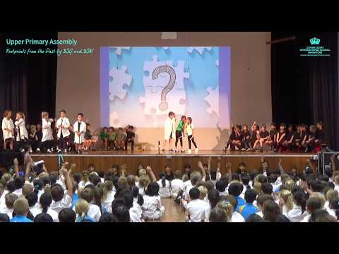 Upper Primary Assembly - Footprints from the Past by 3SG and 3SW