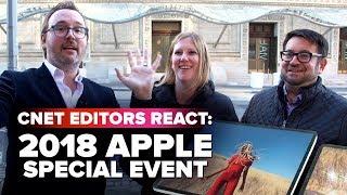 Apple's iPad and MacBook event: CNET Editors react