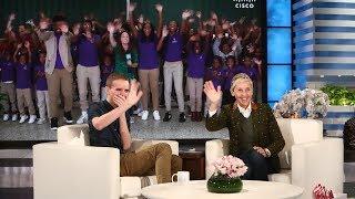 Ellen Surprises Inspiring Baltimore Teacher Mr. O
