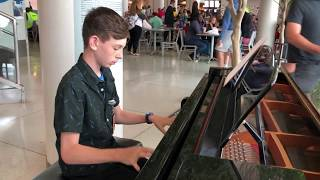 The Entertainer Performed By 13 Year Old Volunteer Pianist
