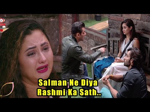 Salman Khan Enters In The BB House To Support Rashmi