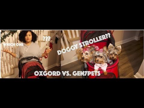 Oxgord Pet Stroller vs  Gen7Pet Stroller Review!!!