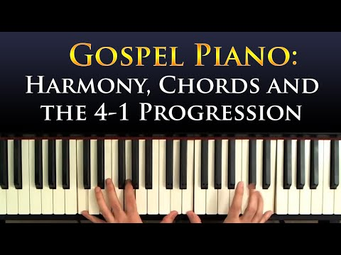 Learn Gospel Piano: The 4-1 Progression
