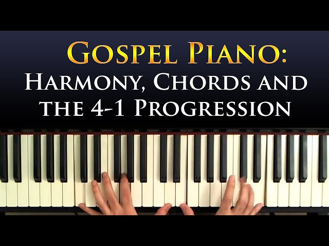 Piano : learn gospel piano chords Learn Gospel Piano Chords or ...