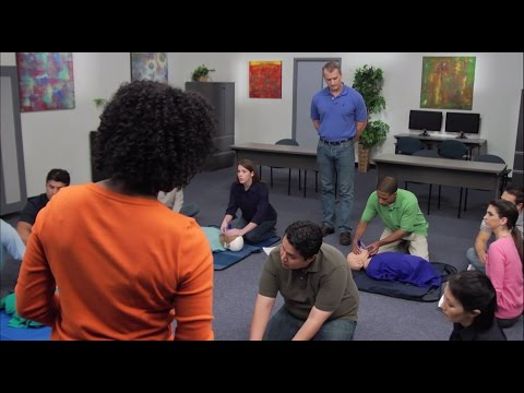 Heartsaver First Aid CPR AED Demo Video - YouTube