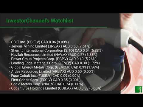 InvestorChannel's Cobalt Watchlist Update for Monday, May, ... Thumbnail