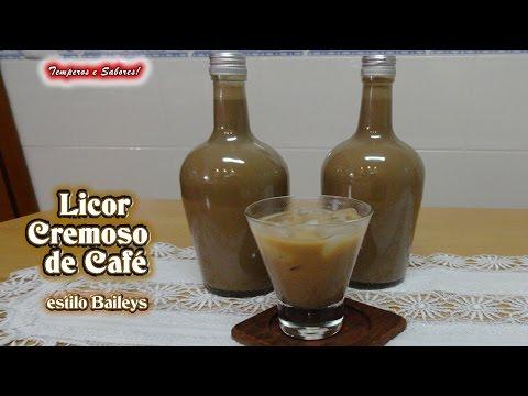 Licor tipo Baileys Café creme