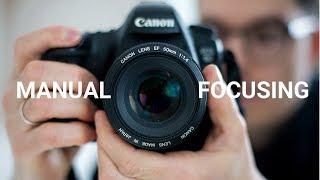 Manual focusing with any camera for tack sharp photos!