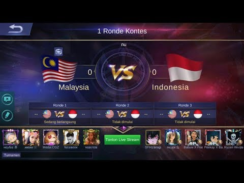 LIVE ARENA KONTES INDONESIA Vs MALAYSIA  | GIVE AWAY CEK DESKRIPSI