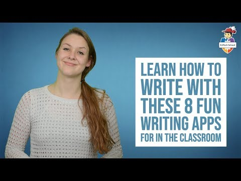 Learn how to write with these 8 fun writing apps for in the classroom