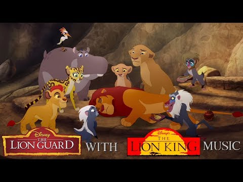The Lion Guard with The Lion King music