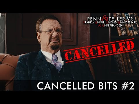 "Penn & Teller VR: F U, U, U, & U - Launch Trailer | ""Cancelled Bits"" #2 thumbnail"